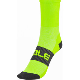 Alé Cycling Summer Air Light Socks fluo green-black